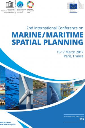 2nd International Conference on Marine/Maritime Spatial Planning, 15-17 March 2017, Paris, France